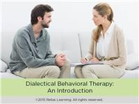 Dialectical Behavioral Therapy: An Introduction